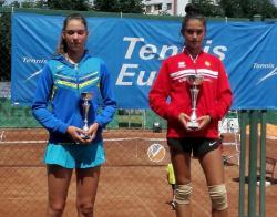 Михаела Цонева с нова двойна победа в турнир от веригата Тенис Европа