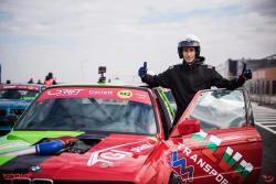 Румен Чанлиев дебютира с победа в румънския шампионат по дрифт