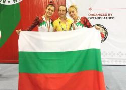 Христина Пенева със 7-мо място на Световното по скокове на батут